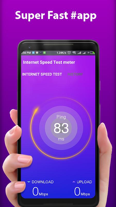 Internet Speed Test meter - 3G 4G WiFi Speed Check 1 3 APK