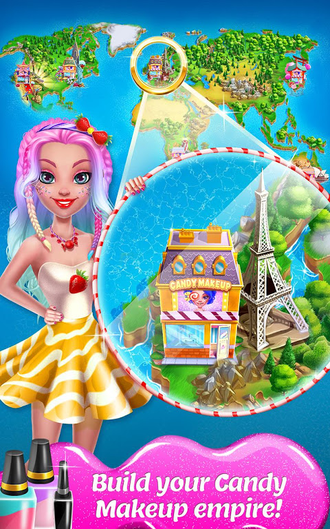 Android Candy Makeup - Sweet Salon Screen 3
