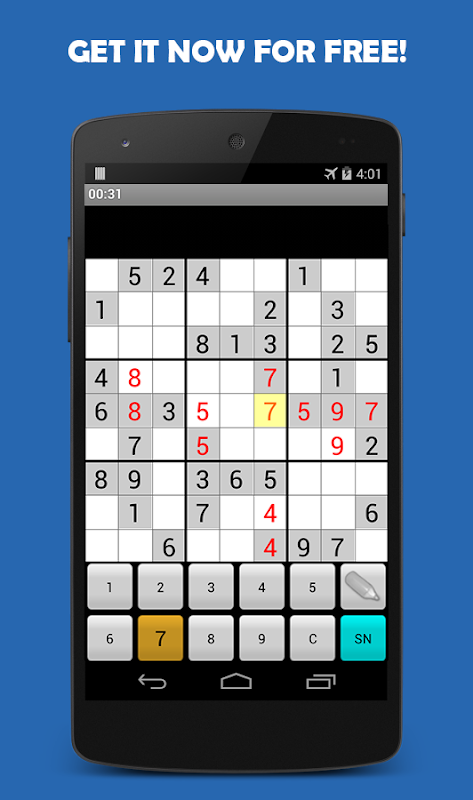 Sudoku 1.8.0 Screen 1
