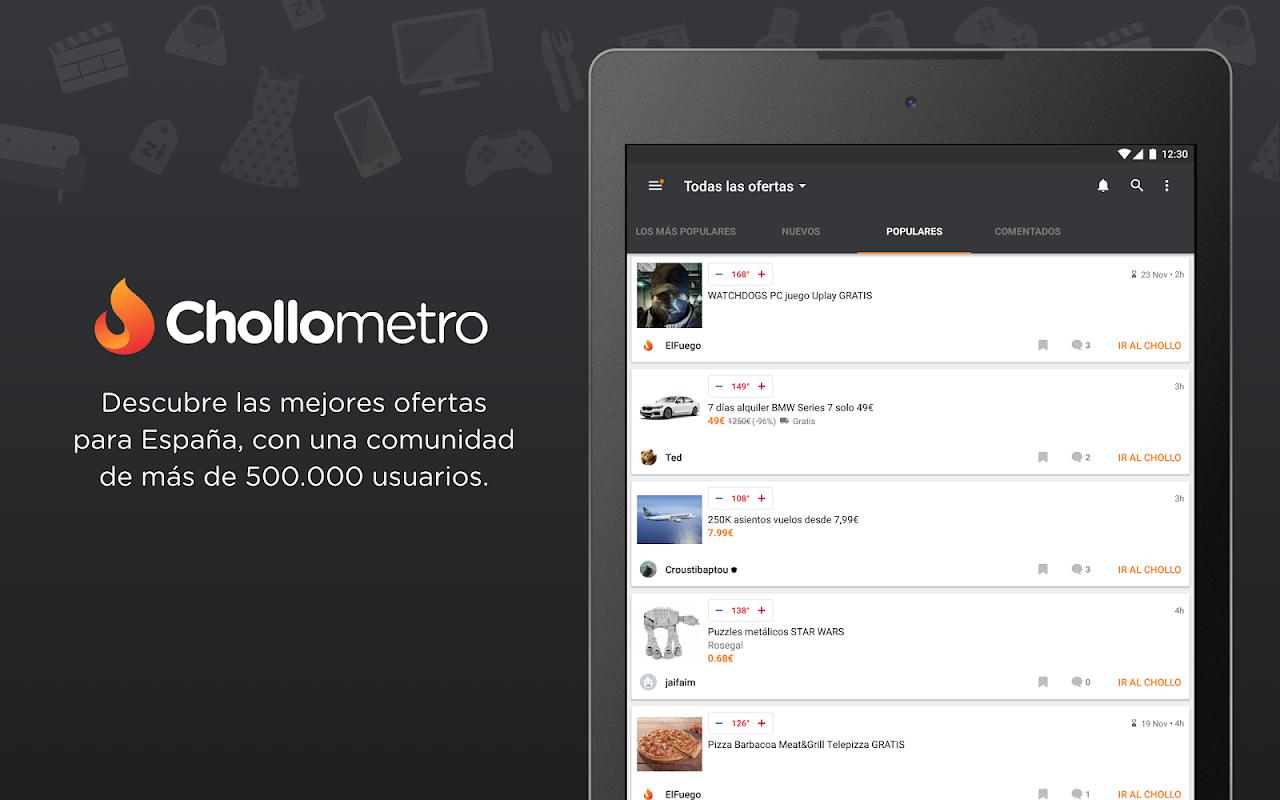Chollometro – Chollos, ofertas y juegos gratis 5.7.07 Screen 6