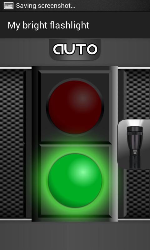 Android My Bright Flashlight Screen 1