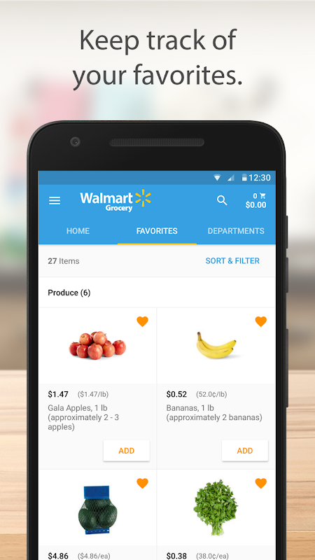 Walmart Grocery 3.8.1 Screen 3