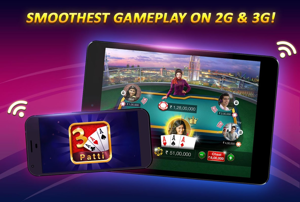 Android Teen Patti Gold - With Poker & Rummy Screen 6