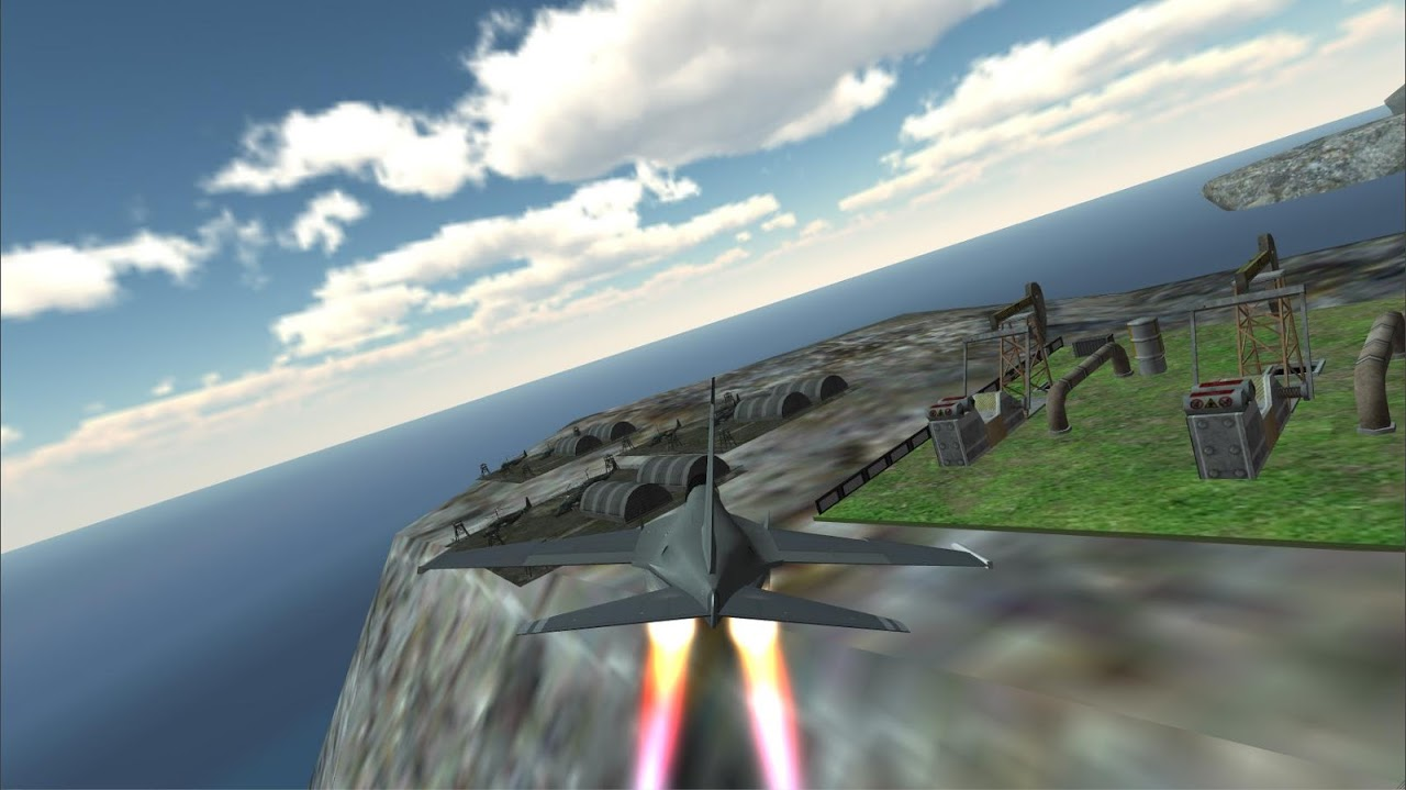 F18 Airplane Pilot Simulator 1.0 Screen 1