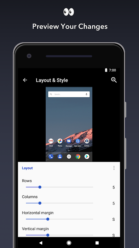 Apex Launcher 4.1.1 Screen 2
