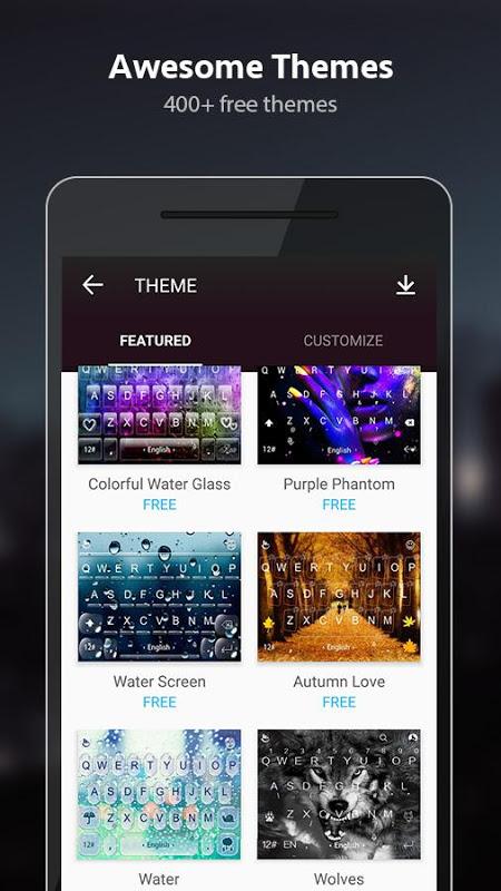 TouchPal Emoji Keyboard 6.1.4.4 Screen 8