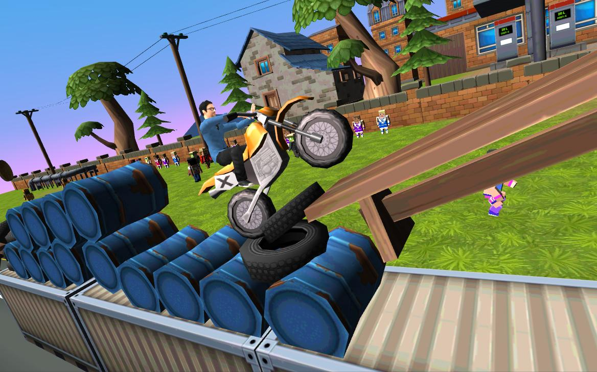 Dirt Bike - Cartoon Trial 1.7 Screen 4
