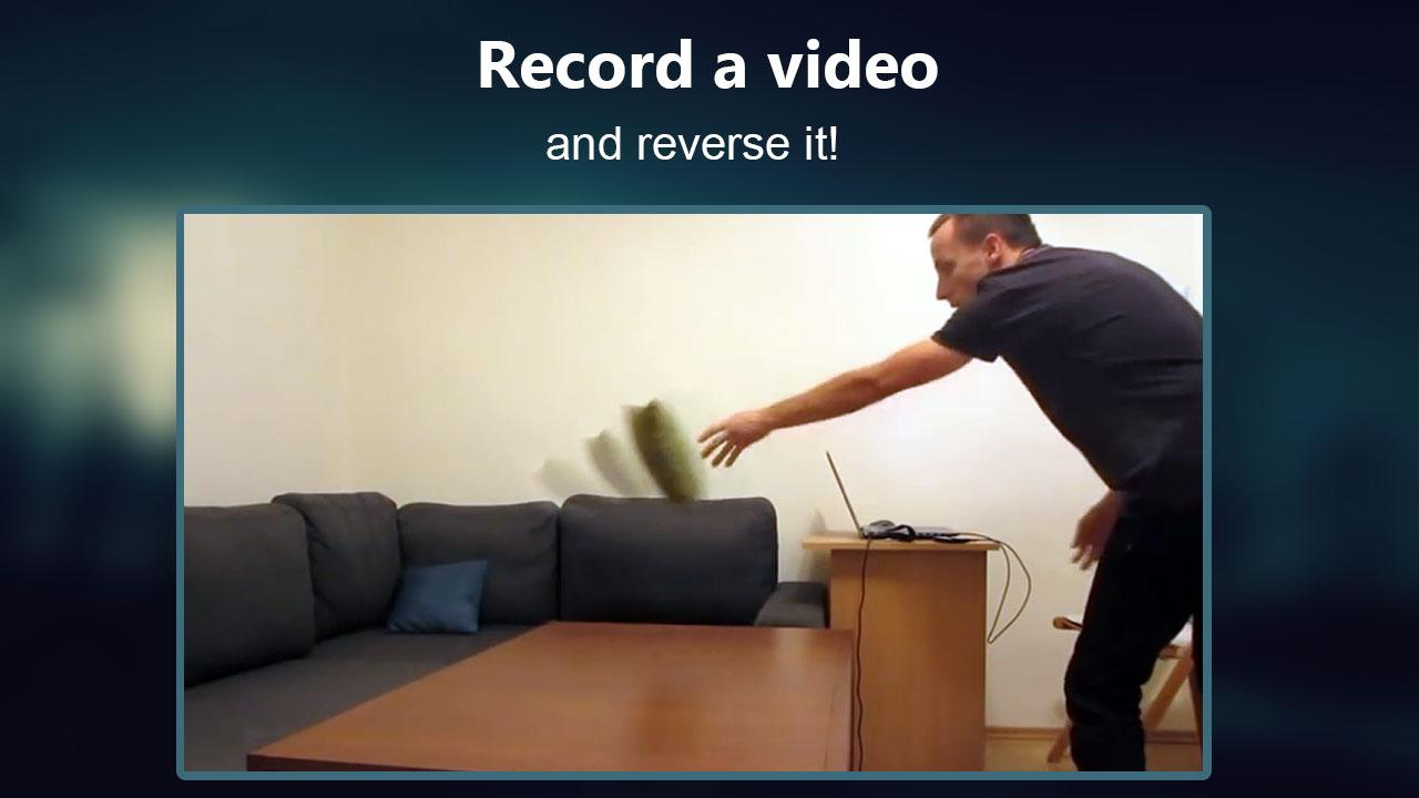 Android Reverse Movie FX - magic video Screen 3