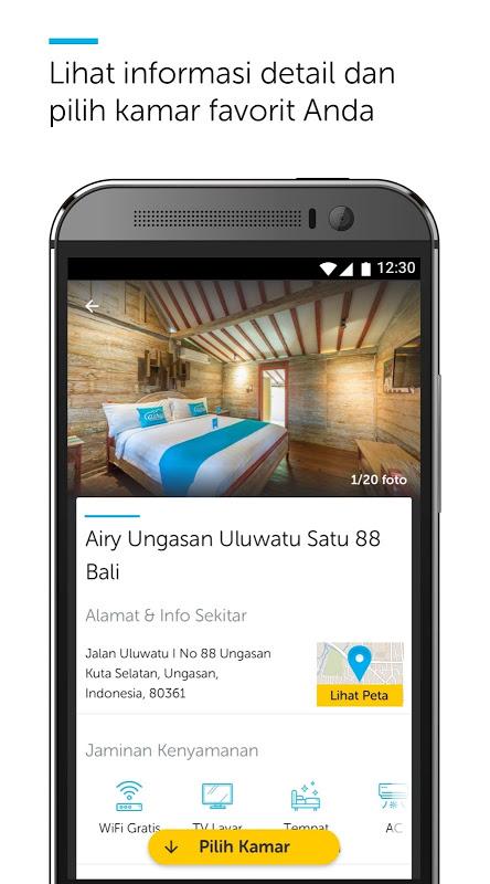 Android Airy Rooms - Kamar Hotel Murah Screen 6