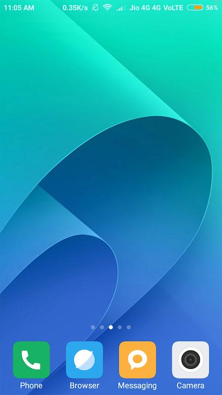 HD Asus Zenfone 4 Wallpaper 1.02 Screen 1