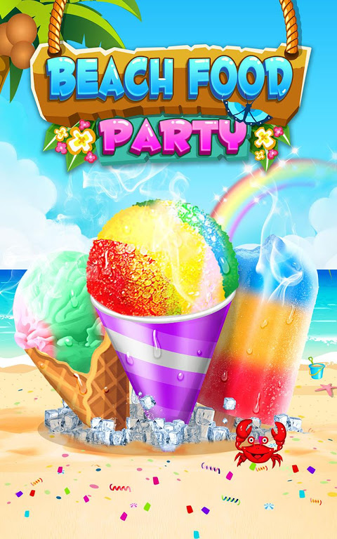Android Food Maker! Beach Party Screen 4