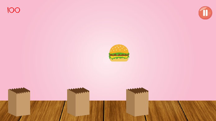 Android Burger Catcher Screen 1