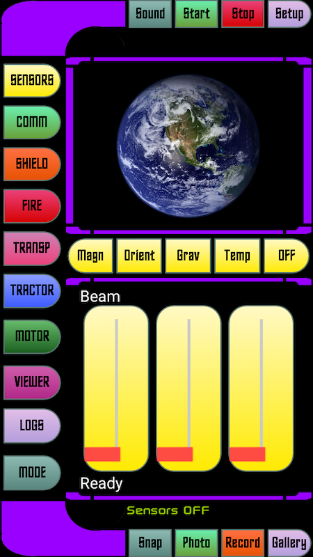 Android Star Fleet Trycorder Screen 7