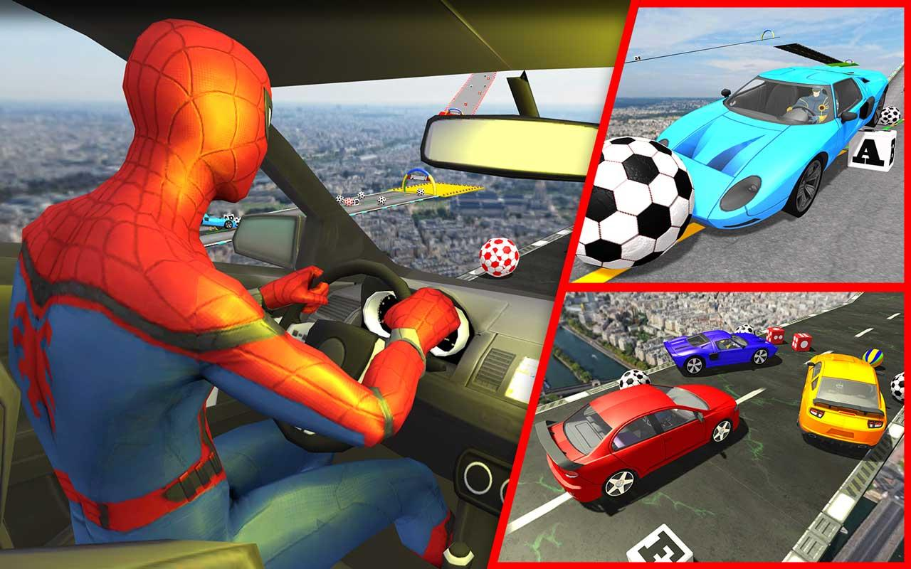 Android Superhero GT Racing Stunts Screen 2