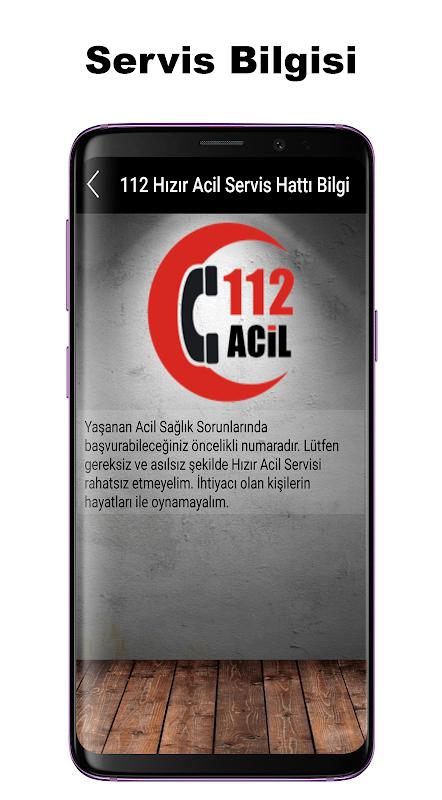 Android Acil Önemli Numaralar Screen 2