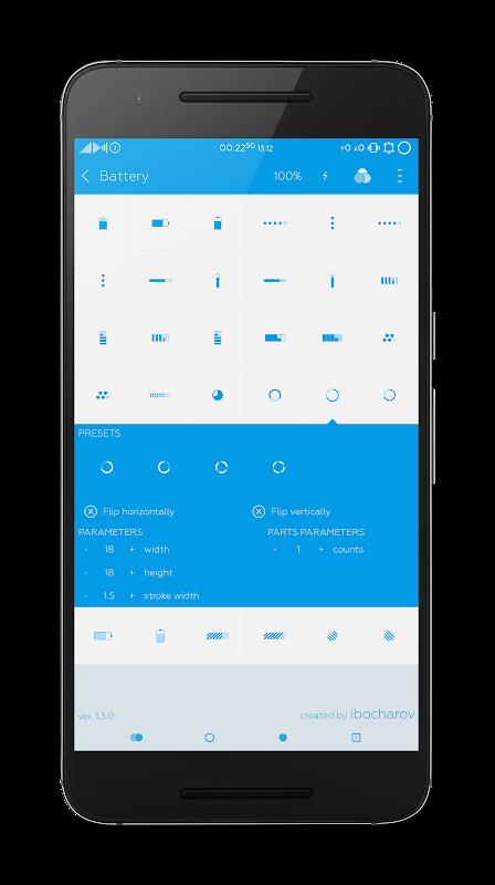 Flat Style Bar Indicators 5.1.3 Screen 3