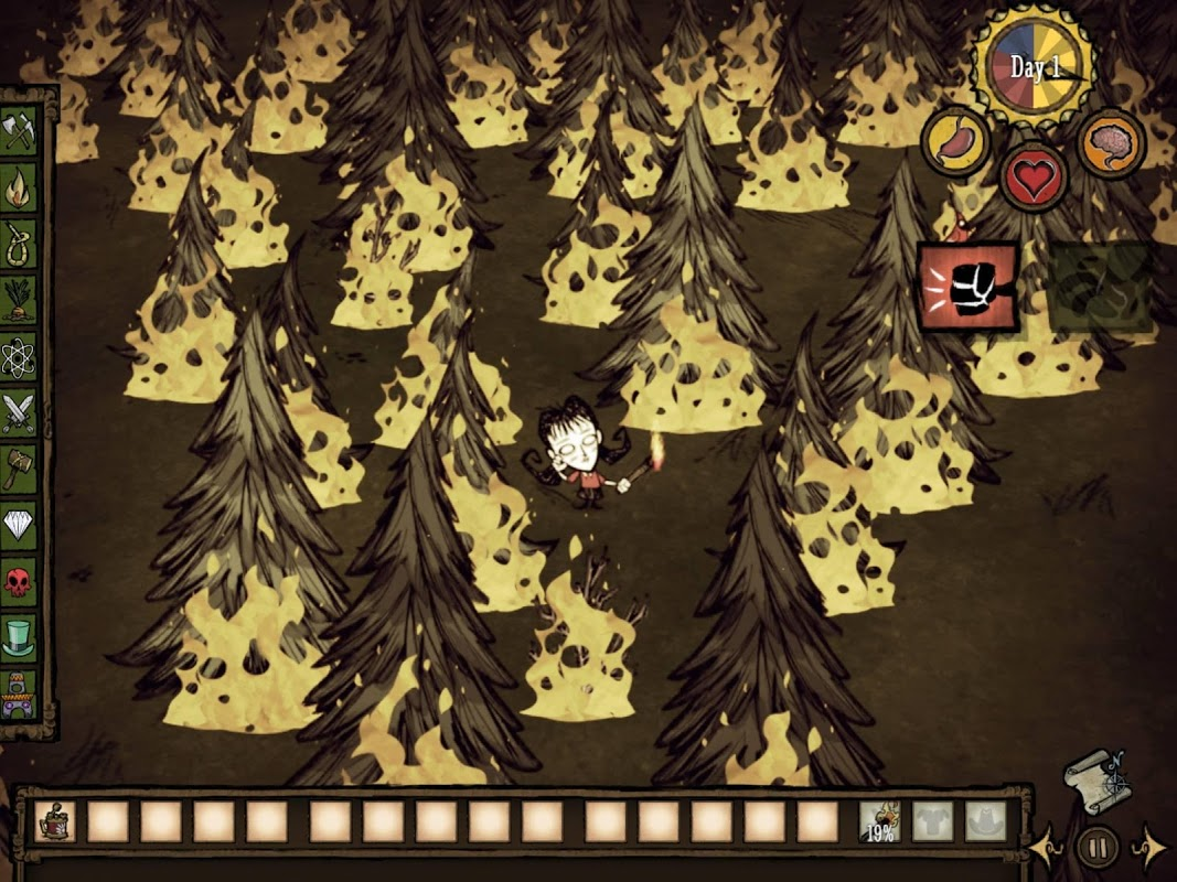 Don't Starve: Pocket Edition 1.07 Screen 1