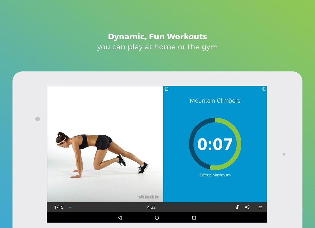 Android Workout Trainer: fitness coach Screen 8