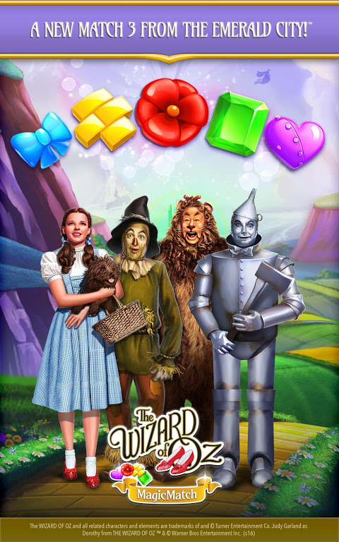 Android The Wizard of Oz Magic Match 3 Screen 3