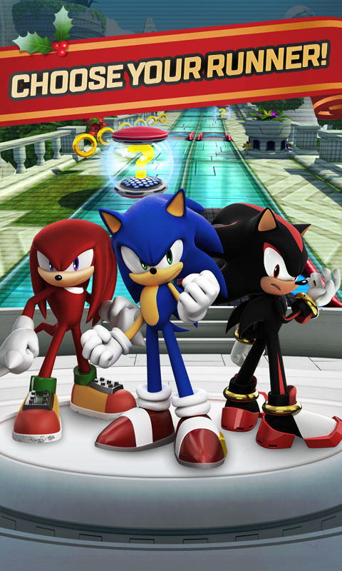 Android Sonic Forces: Speed Battle Screen 2