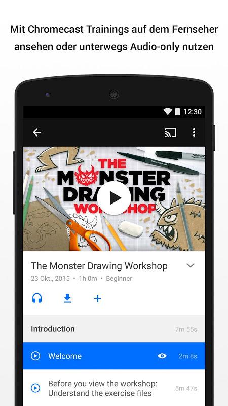 Android Lynda - Online Training Videos Screen 3