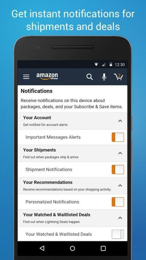 Amazon Shopping 12.9.0.100 Screen 5