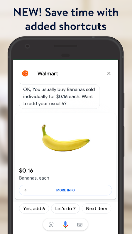 Walmart Grocery 7.4.0 Screen 5