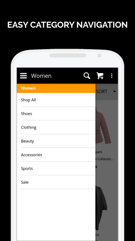 Zando Fashion Online Shopping 1.0.8 Screen 1