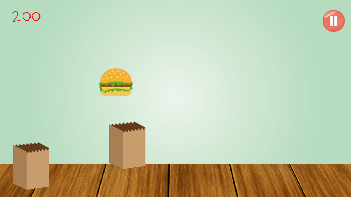 Android Burger Catcher Screen 4
