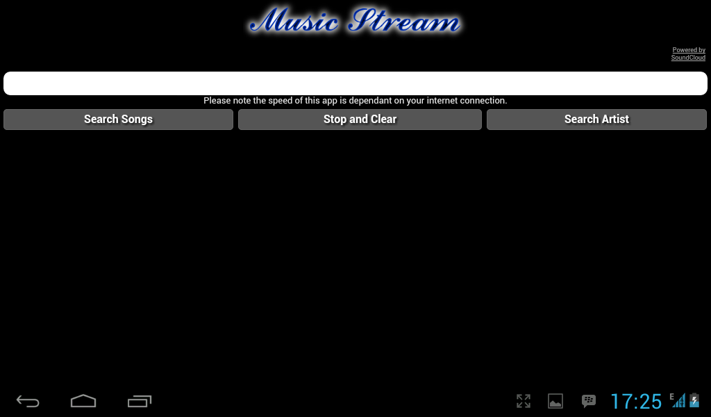 Music Stream 3 Screen 1