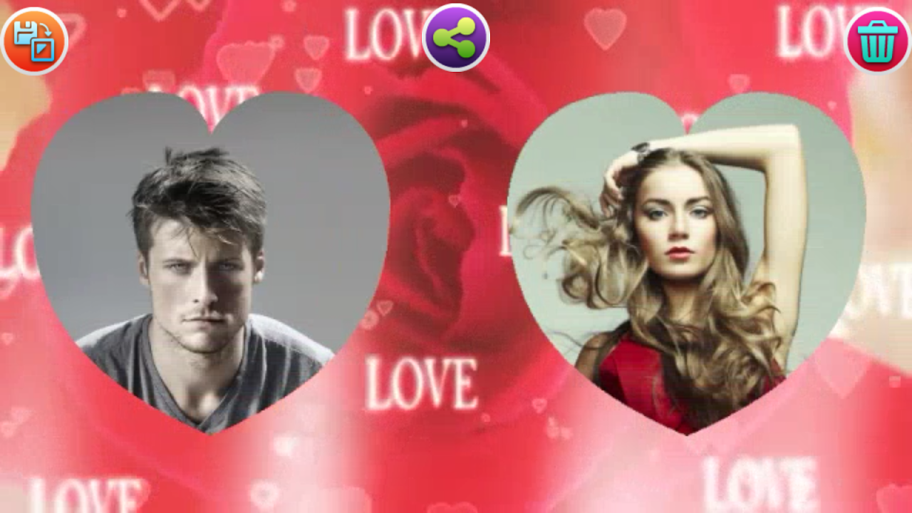 Android Love Video Creator Screen 1