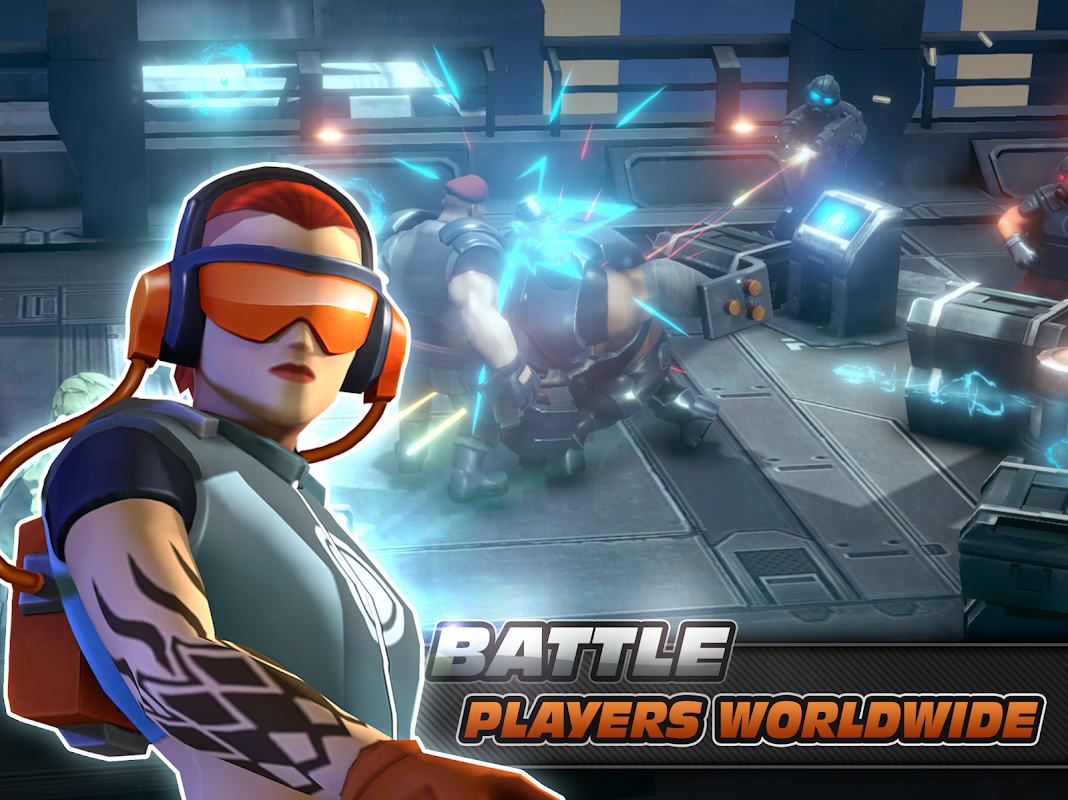 Alpha Squad 5: RPG & PvP Online Battle Arena 1.5.51 Screen 7