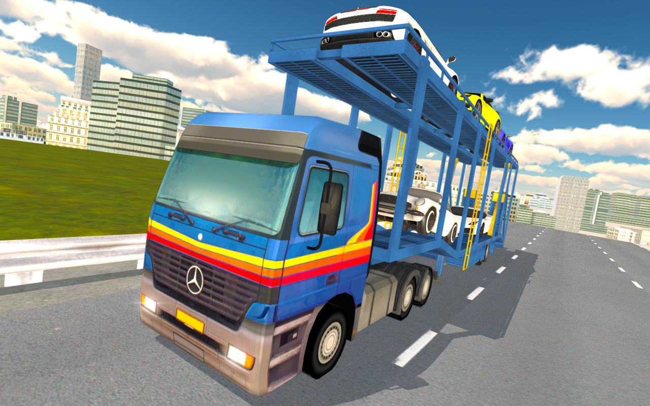 Android Truck Driver Simulator Pro Screen 2
