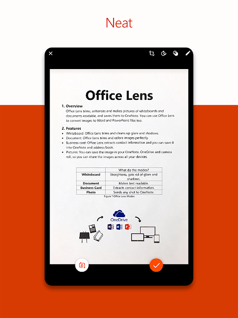 Android Microsoft Office Lens - PDF Scanner Screen 11