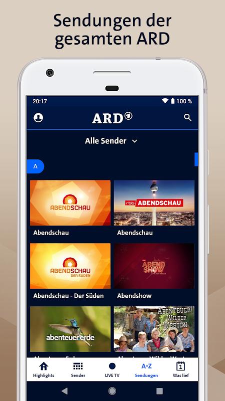ARD Mediathek 7.6.0 Screen 3