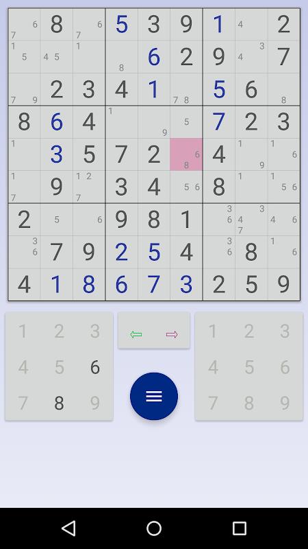 Sudoku: 3 in 1 1.7.3 Screen 3