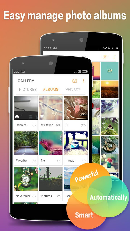 Photo Gallery & Album 2.0.5 Screen 1