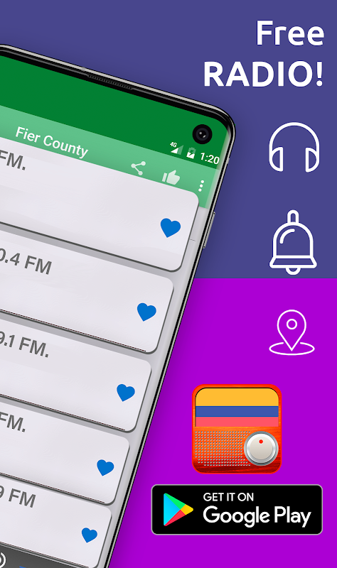 Android Free Colombia Radio AM FM Screen 4