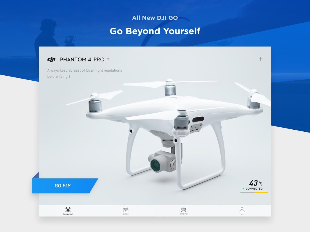 DJI GO 4--For drones since P4 4.3.16 Screen 7