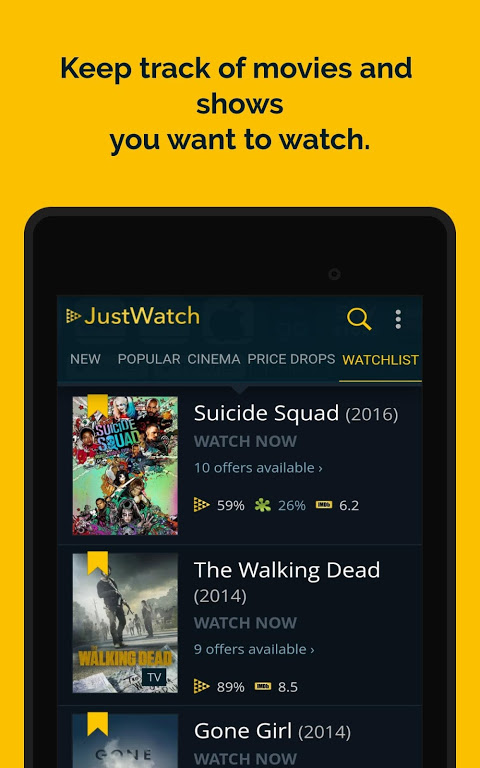 JustWatch - Search Engine for Streaming and Cinema 0.24.58 Screen 21