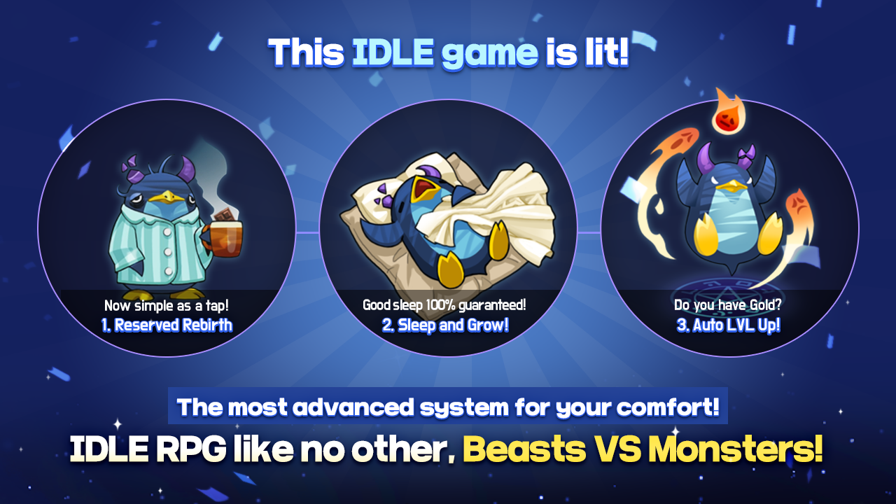 Android BEASTS VS MONSTERS - Idle RPG Screen 5