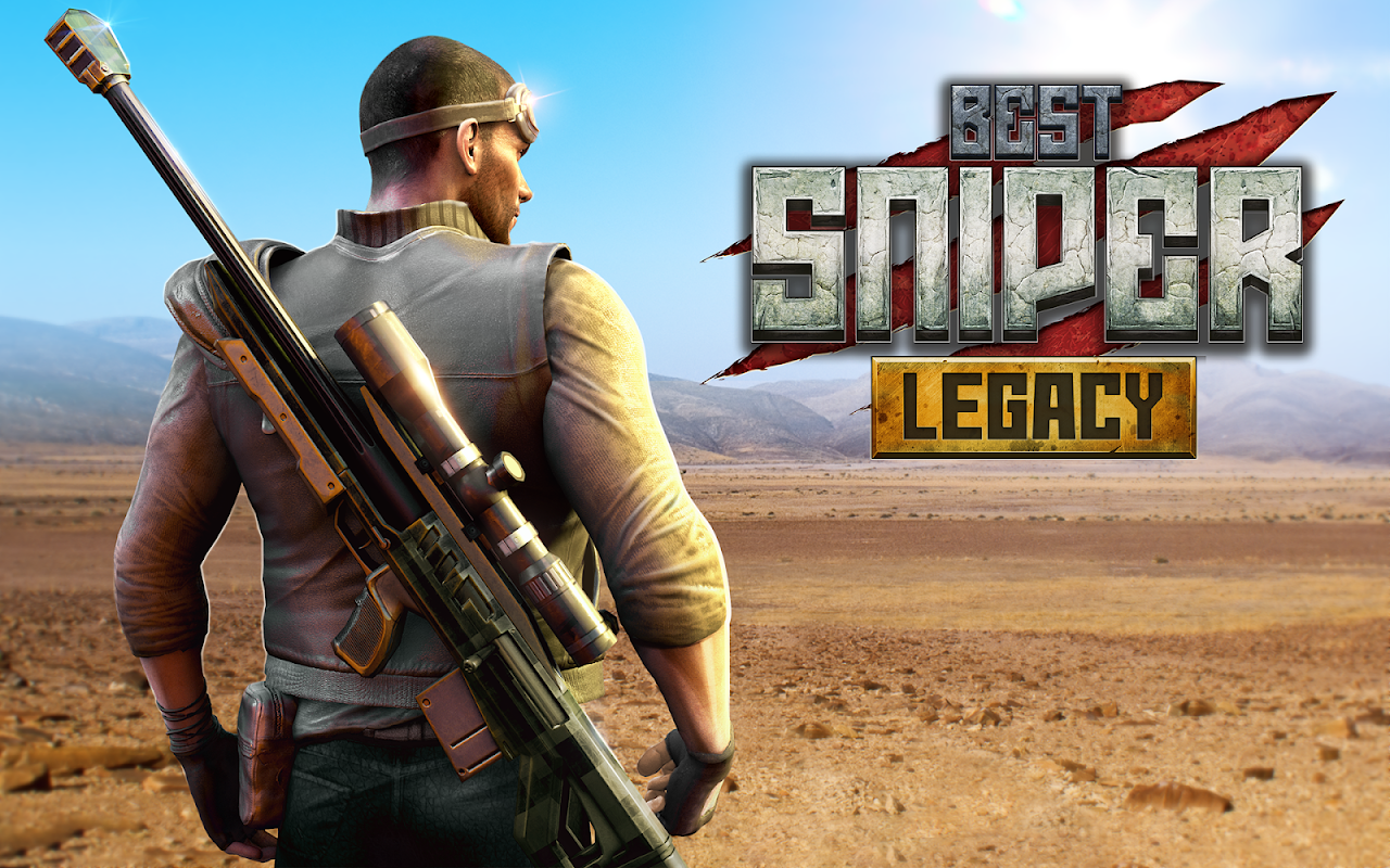 Android Best Sniper Legacy: Dino Hunt & Shooter 3D Screen 22