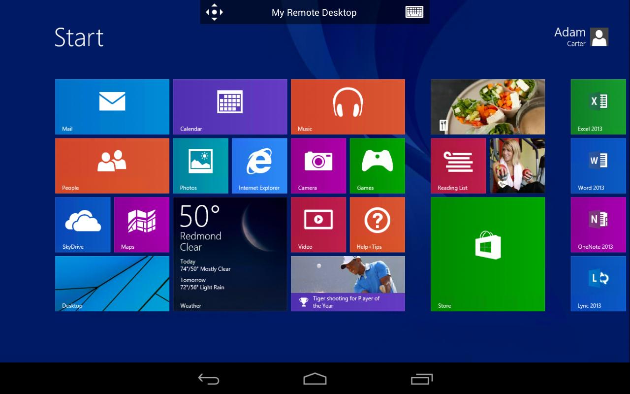 Microsoft Remote Desktop 8.0.5.24406 Screen 8
