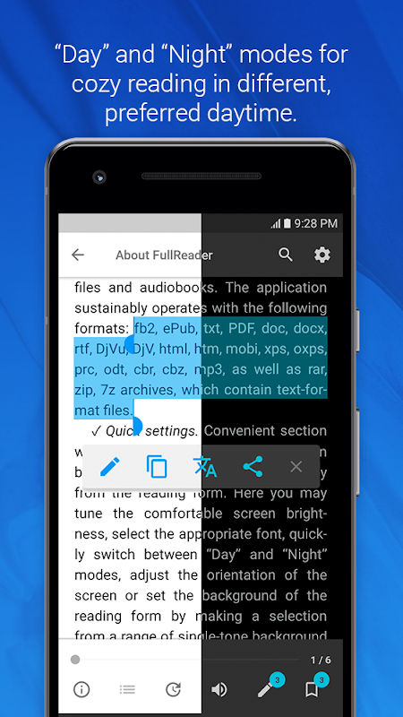 FullReader – e-book reader 4.0.4 Screen 7