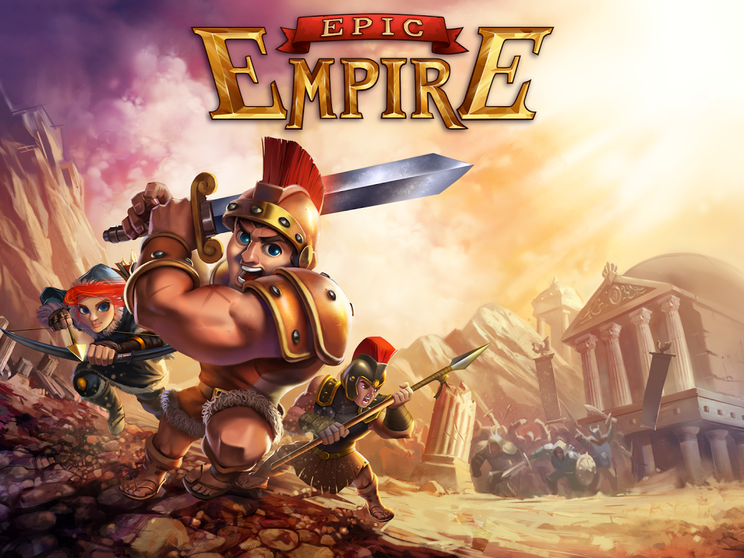 Android Epic Empire: A Hero's Quest Screen 4
