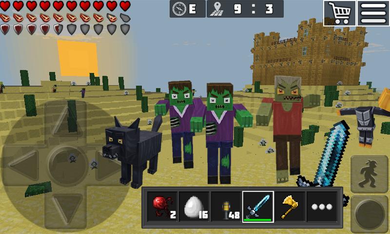 WorldCraft : 3D Build & Craft 3.1 Screen 3
