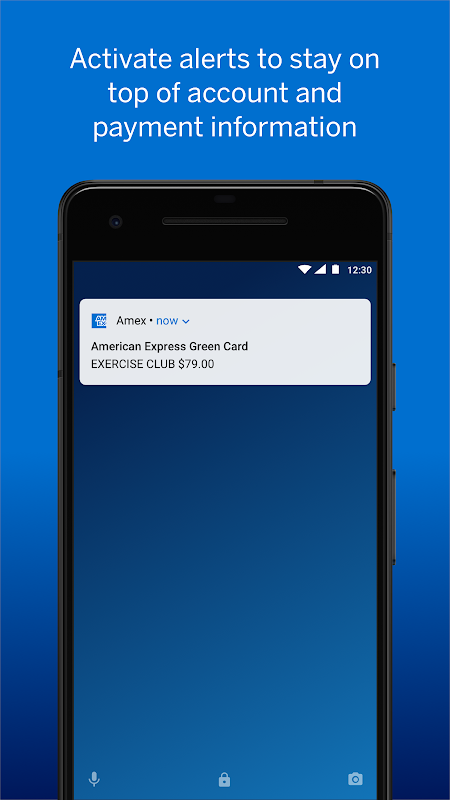 Android Amex Screen 8