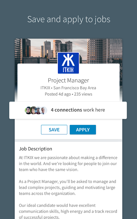 LinkedIn 4.1.195 Screen 5