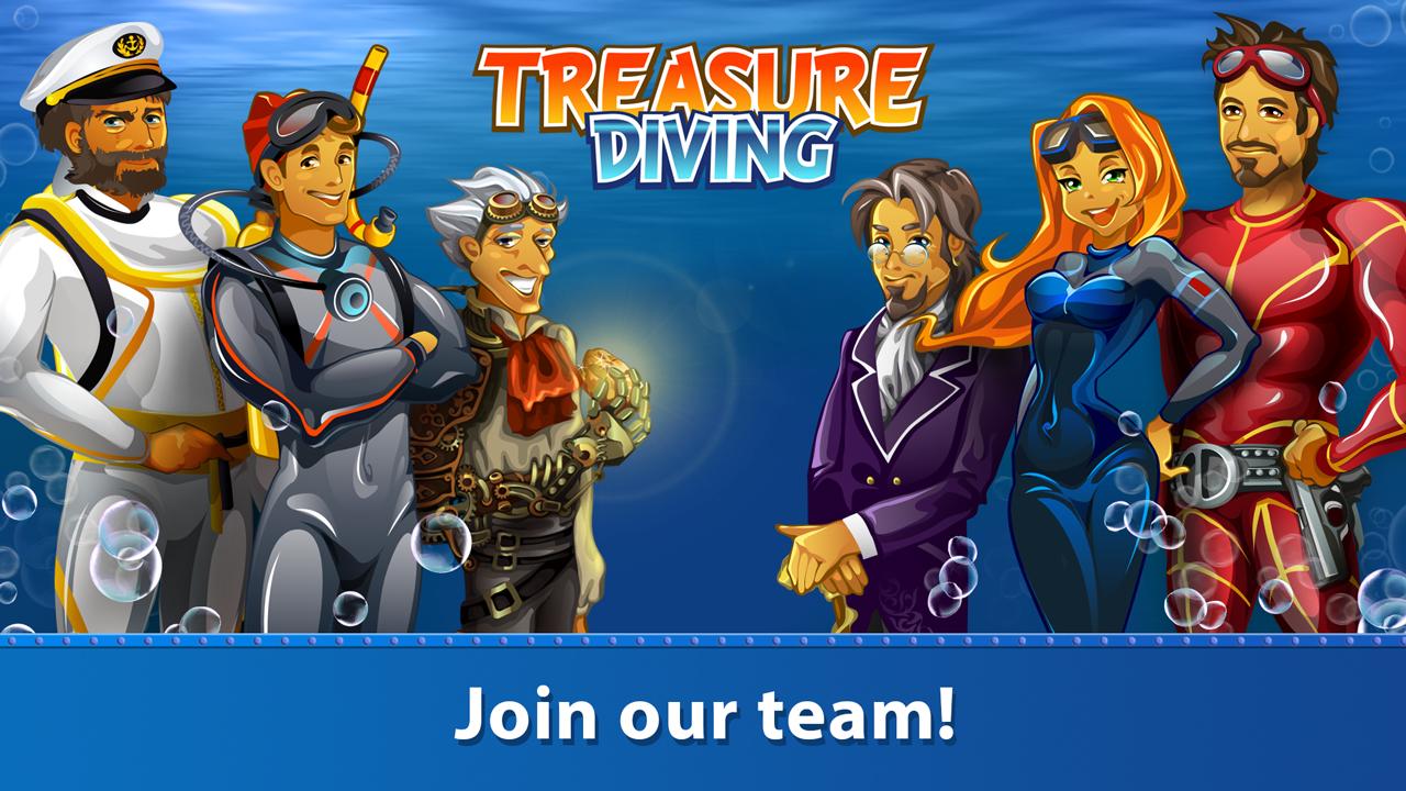 Treasure Diving 1.257 Screen 2