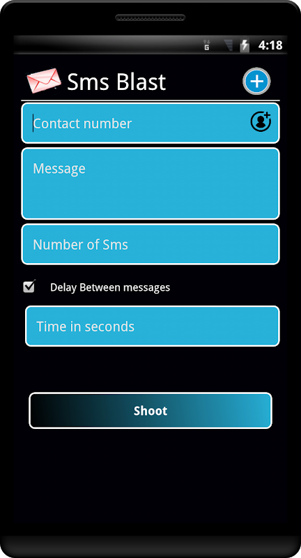 SMS Blast 1.45 Screen 1